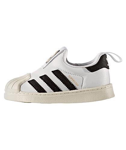 e92ce52fe52b1 shop adidas adidas superstar 360 i chaussures de sport petit garçon slip on  blanc 37369 64ae6