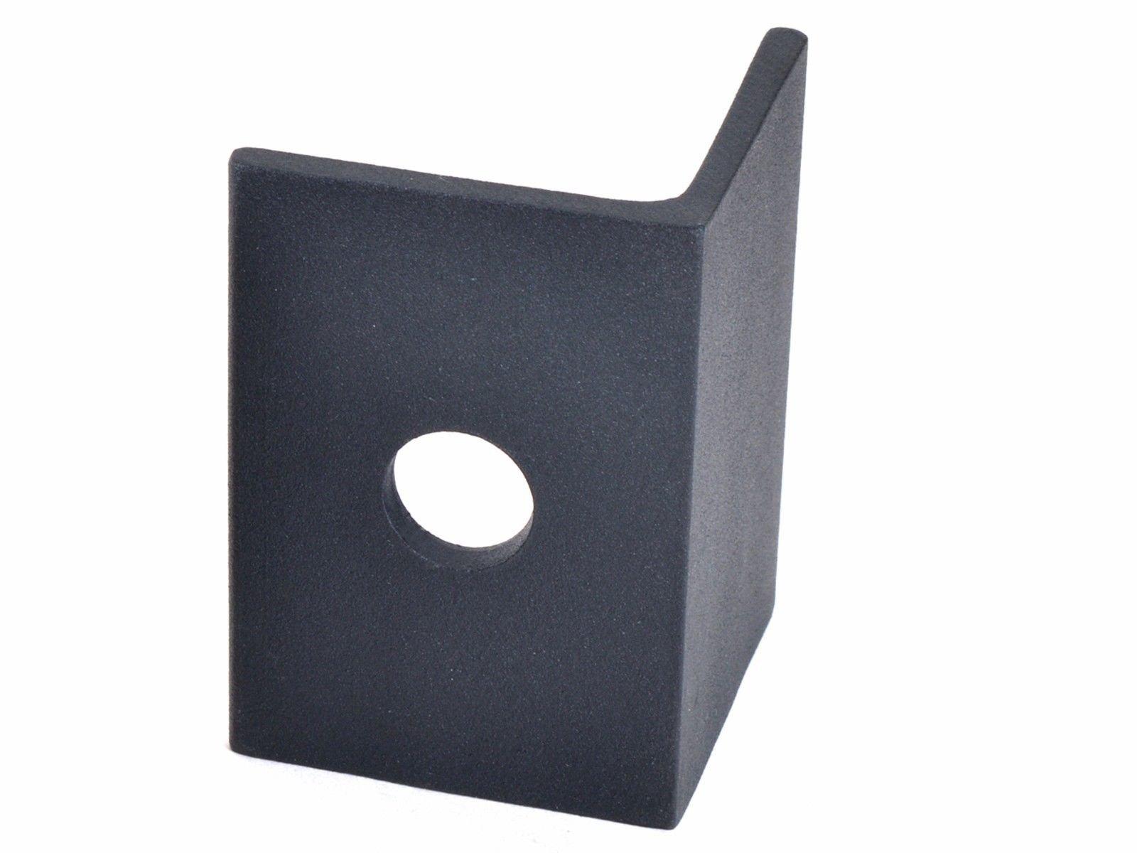 Black Door Stop Hardware Replacement For Heavy Duty 800LB Barn Sliding Door Part by Eight24hours