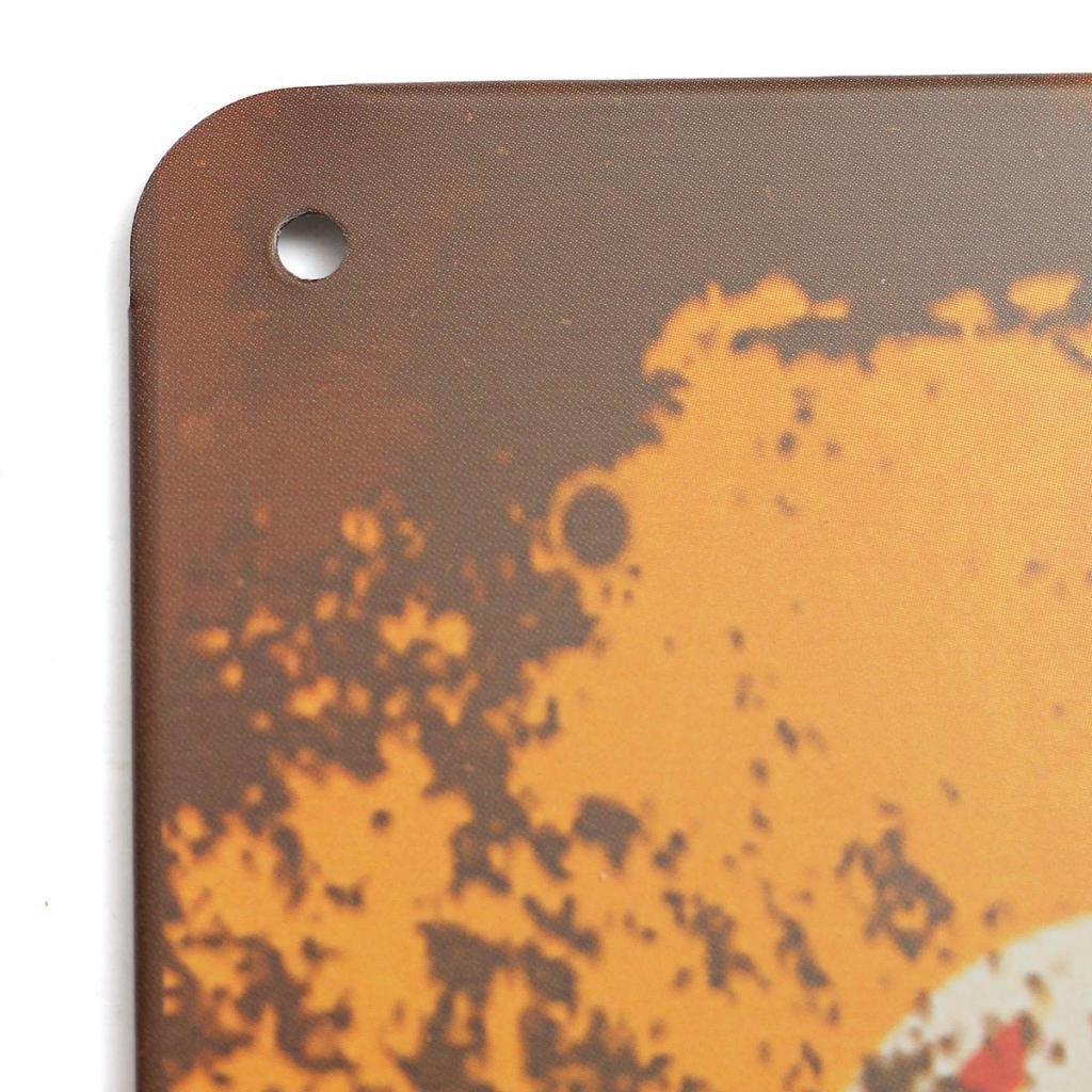 Casa Gran Selecci/ón Pub Cuadros Decoracion Casa para Cocina Enviado Desde ES Retro Art Pintura Aluminio Quotes 100 Jardin Oficina Ducomi Placas de Pared Decoraci/ón Hogar Metal Vintage