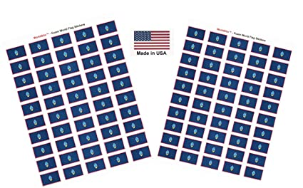 DECAL PRINTED STICKER CHINA SHIELD WORLD FLAG CHOICE OF SIZES