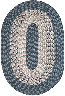 product image for Hometown 5' x 8' Braided Rug in Blueberry