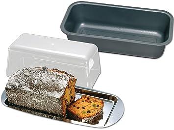 Chg 9864-60 - Juego de moldes para bizcocho y pan (3 unidades): Amazon.es: Hogar