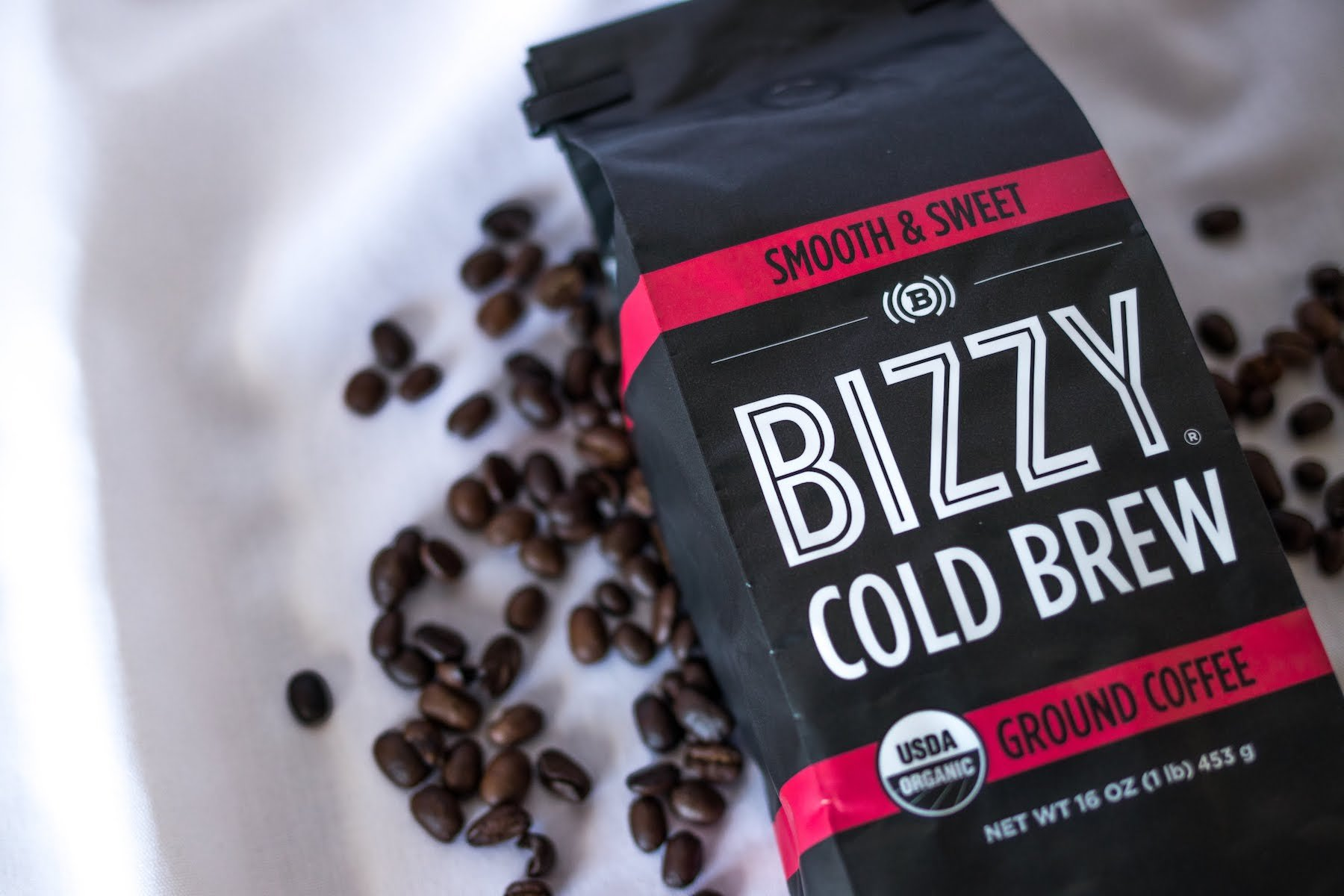 Bizzy Organic Cold Brew Coffee - Smooth & Sweet Blend - Coarse Ground Coffee - 1 Pound by Bizzy (Image #5)