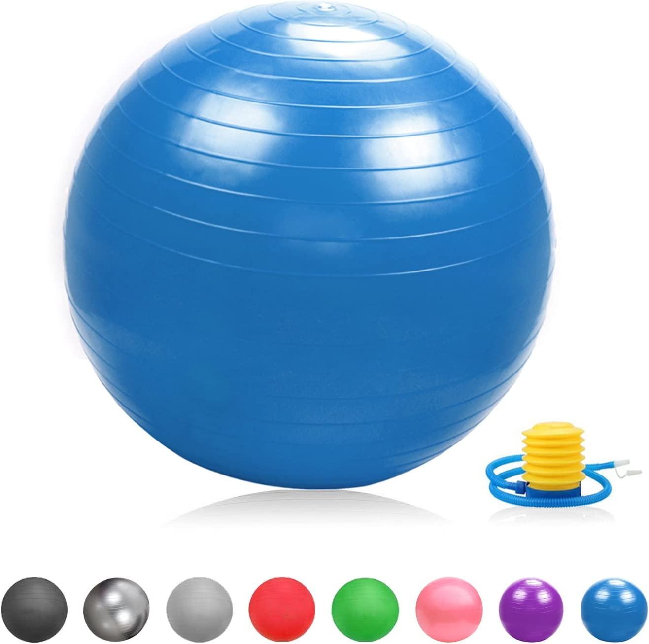Mini Pilates Yoga Ball Obstrucci/ón Solapas Pelota Carcasa Glamexx24 Suave Pezi Swiss Pelota de Dick Anti Burst Asiento Pelota de Gimnasia Fitness Bal/ón de Bomba