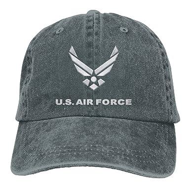 KAOMAOXI Baseball Cap Air Force Symbol Unisex Vintage Adjustable Gym Cap  Dad Trucker Hat 4611748f119