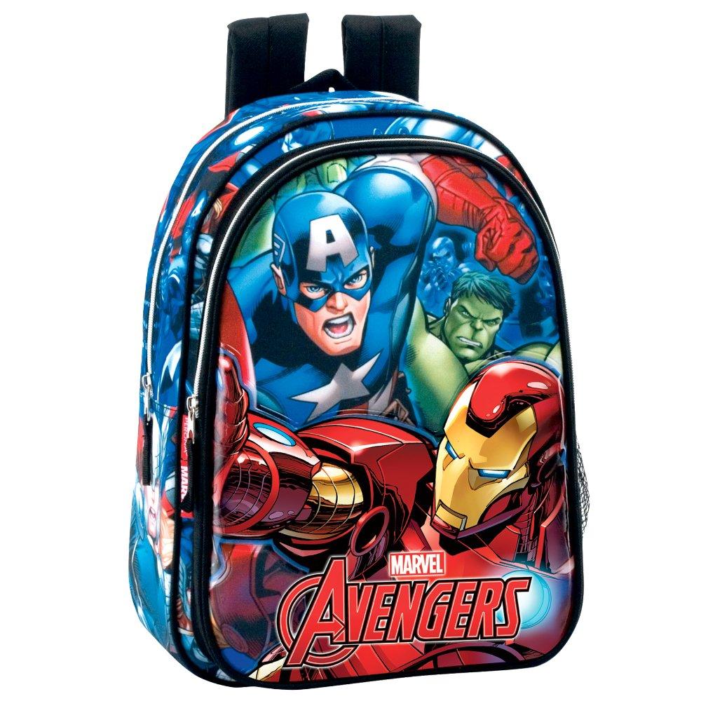 Perona Avengers Mochila Escolar, 37 cm, Multicolor