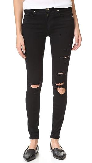 McGuire Denim Women's Newton Skinny Jeans, Black Hole, 29