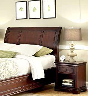 Home Styles Lafayette King California King Sleigh Headboard And Night Stand