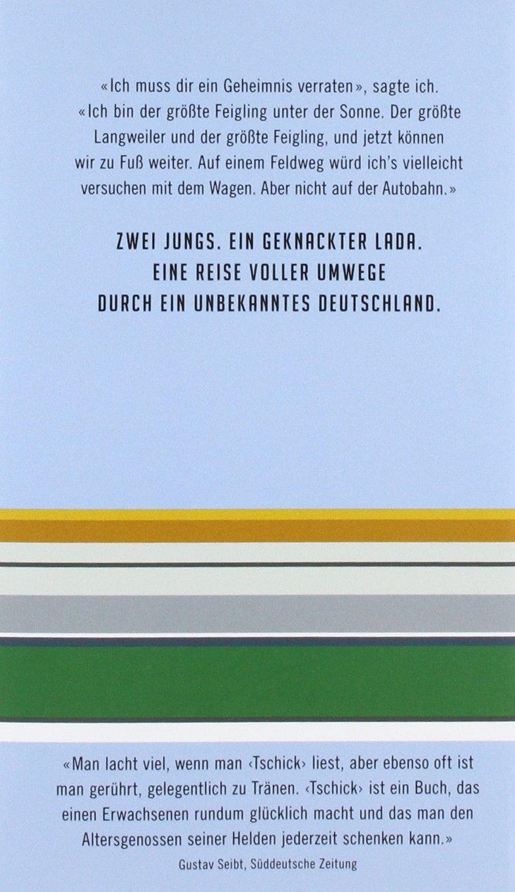 Tschick: Wolfgang Herrndorf: 9783871347108: Amazon.com: Books