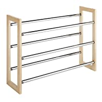 Whitmor 3 Tier Expandable Shoe Rack