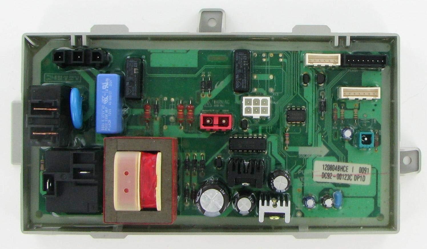 Samsung DC92-00123C Laundry Dryer Control Board (Renewed)