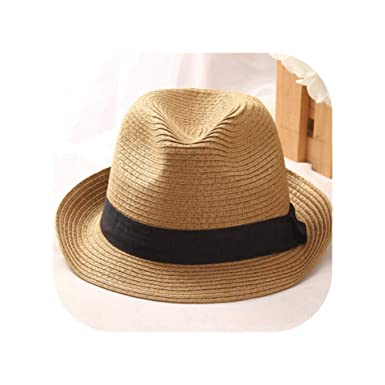 31b9b854a9c Men Fedora Straw Hats for Women Man Holiday Beach Summer Sun hat Unisex