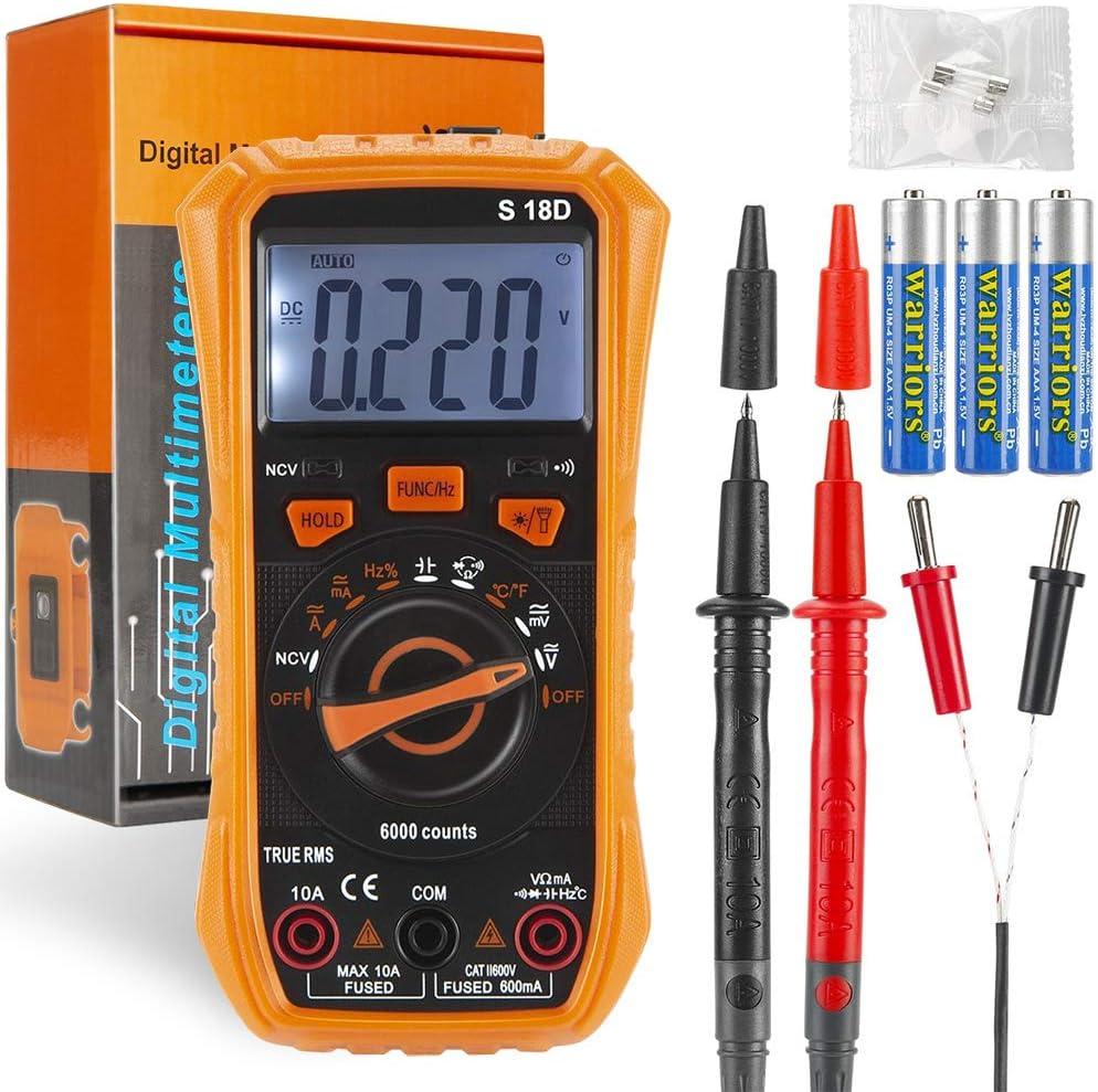 Digital Multimeter Tester, Electrical Voltmeter Tester, Volt Multi Meter, Car Battery Tester Circuit Tester