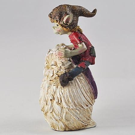 pixies Totem 3 statuettes elfes sagesse Pixies