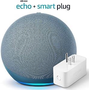 All-new Echo (4th Gen) - Twilight Blue - bundle with Amazon Smart Plug