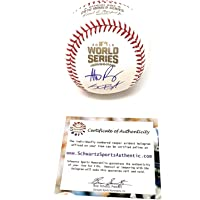 $349 » Kris Bryant Anthony Rizzo Chicago Cubs Dual Signed Autograph Official MLB World Series Baseball Schwartz Sports Authentic Certified