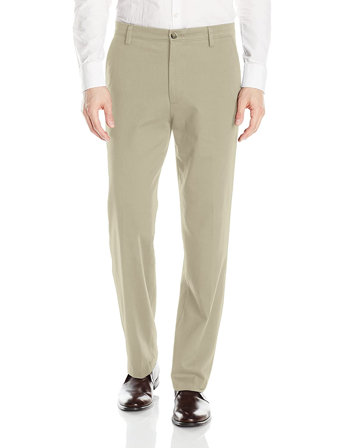 Dockers Men's Easy Khaki Stretch D3 Classic-Fit Flat-Front Pant Dockers Men's Bottoms 46247