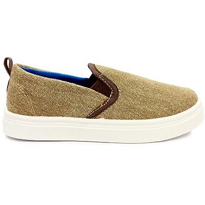 Oomphies Rascal Boys Tan Slip-on Shoe