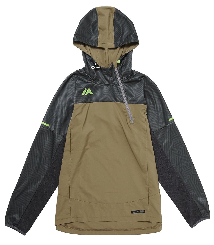 Majestic(マジェスティック) フード付き ゲーマージャケット 長袖 Authentic Hooded Gamer Jackrt LS XM23-KHK5-MAJ-0032 B074SNMZDL Medium|グリーン グリーン Medium