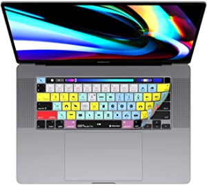 "Adobe Premiere Keyboard Covers for MacBook Pro 13"" & 16"" MacBook Pro 2020+. (Will not fit Other MacBook Models)"