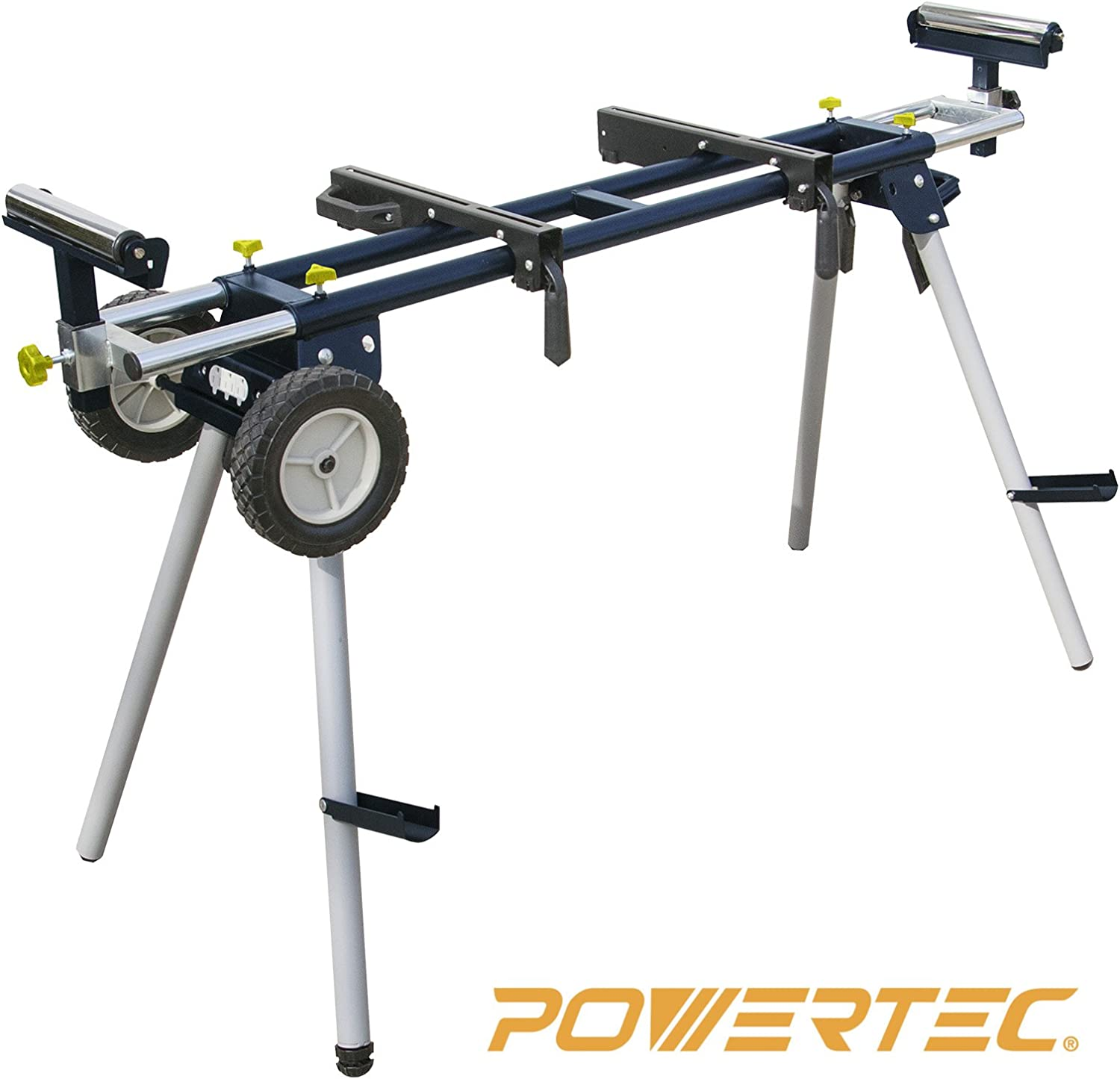 Best miter saw stand: POWERTEC MT4000 Deluxe Portable Miter Saw Stand