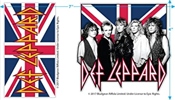 Tour Journey 2018 Def Leppard Ori Gembok Cool Print Design Mens Ideal Short Sleeve T Shirt