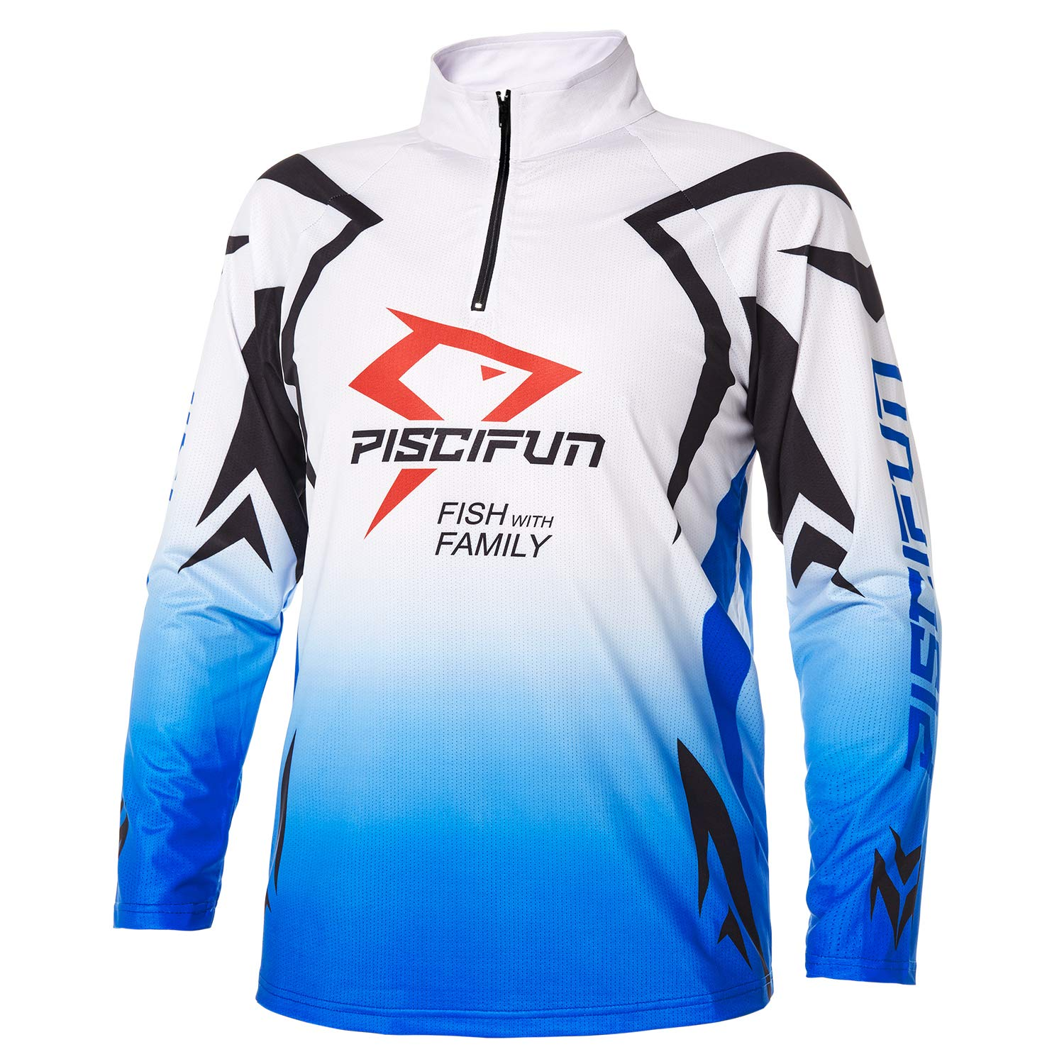 7854dd0502a855 Piscifun Performance UPF Long Sleeve Fishing T-Shirt-Sun Protection  Clothing Fishing Jersey M L