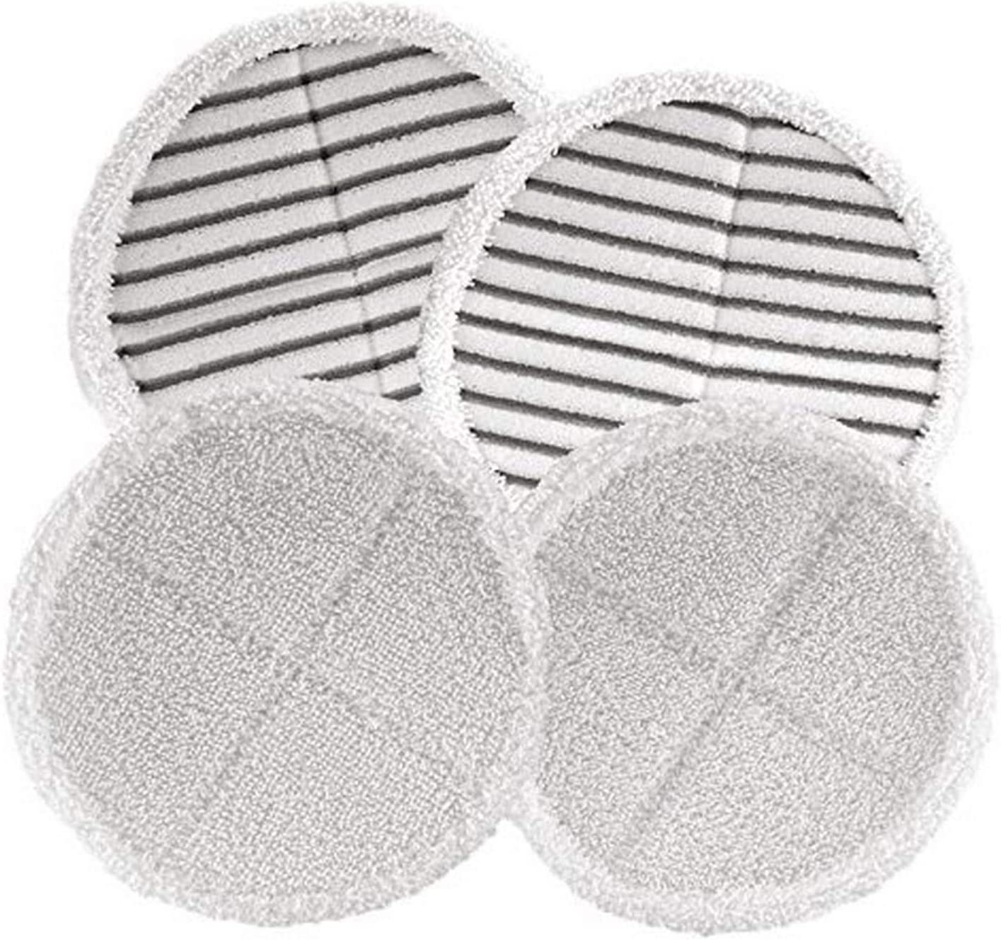 Hard Floor Mop Pads Kit Included 4 Heavy Scrub Pads Wadoy Replacement Pads for Bissell Spinwave 2039A 2124
