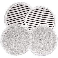 Bissell 2124 Spinwave Juego de Almohadillas de Repuesto para trapeador, Blanco, 1, 1