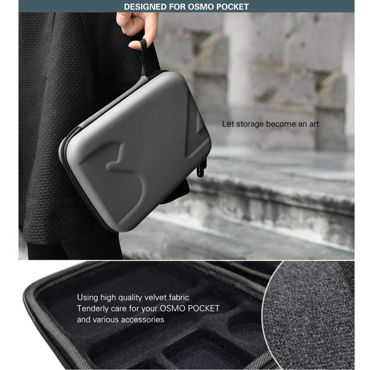 Nett Skyreat Tragetasche Hard Carry Case Für Dji Osmo Pocket Und Filter Und Zubehör Akkus & Batterien