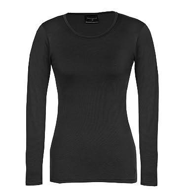 7938e4065d9 Wild South Women s Merino Wool Long Sleeve Crew T Shirt Lightweight ...