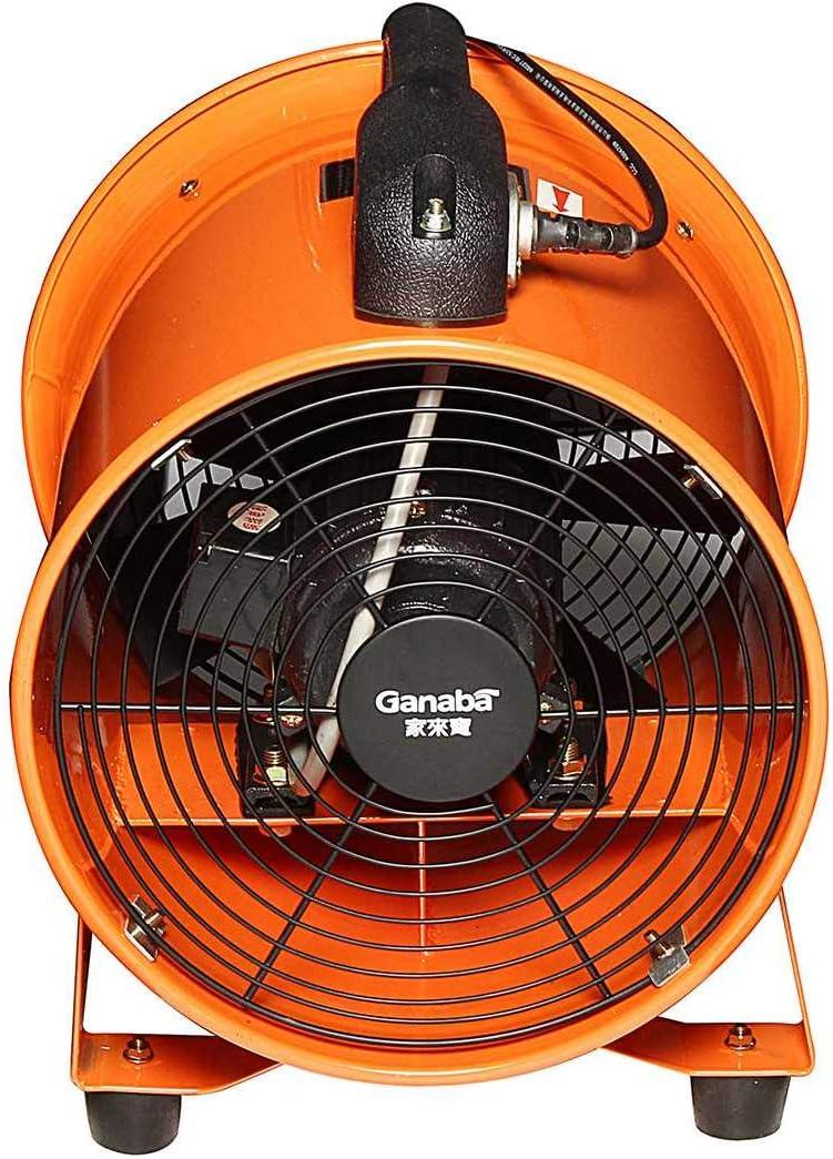 Coche eléctrico Fan180W 220V 10 pulgadas ventilador portátil extractor ventilador de garaje industrial alta ventilación coche eléctrico giratorio