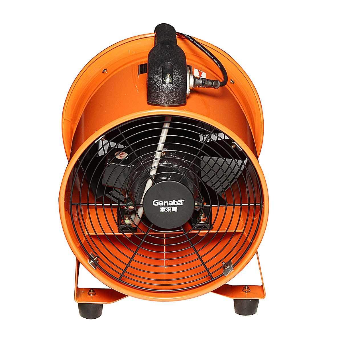 Electric Car Fan180W 220V 10 inch portable blower fan extractor industrial garage high rotating fan ventilation car electrical by CZPF