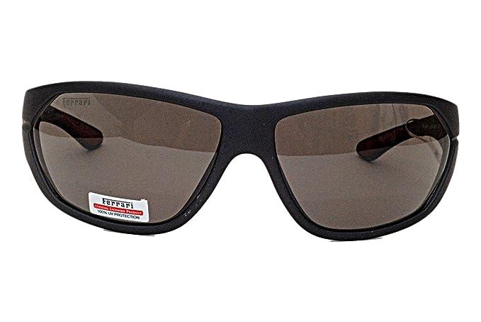 FERRARI - Gafas de sol - para mujer Gris Negro: Amazon.es ...