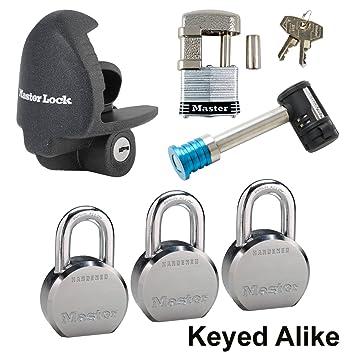 Master Lock – Remolque 6 cerraduras con llave # 6ka-3796230 – 37