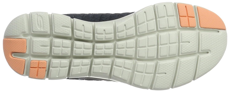 Skechers Flex Appeal 2.0-Break Free, Scarpe Sportive Outdoor Outdoor Sportive Donna Grigio Char) d53b05