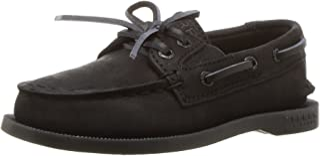 Sperry SperryYB50671 - A/O Scarpa da Barca Slip On Unisex-Bambini Nero (Black) 28.5 EU A/O Slip On Boat Shoe