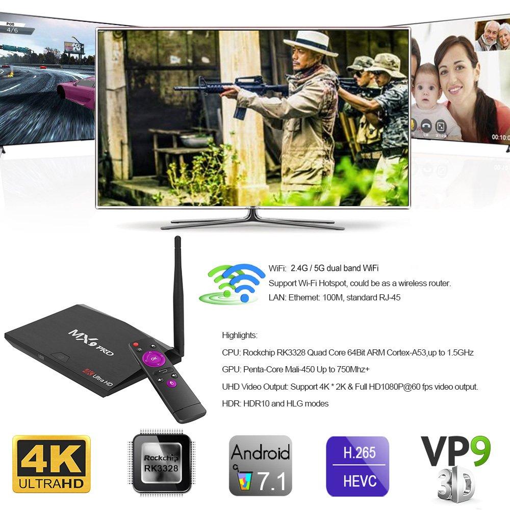 SHENGMO MX9 Pro 4GB Ram 32GB Rom RK3328 Quad Core 64Bit