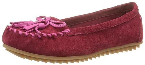 Hush Puppies Tasha, Mocasines para Mujer, Rojo, 36 EU: Amazon.es: Zapatos y complementos
