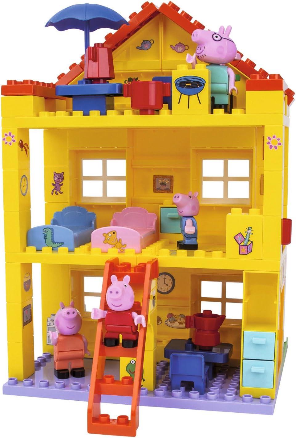 BIG - Juego de construcción para niños Peppa pig , color/modelo surtido: Amazon.es: Juguetes y juegos