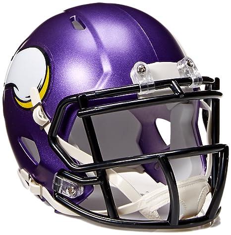 Amazon.com   NFL Minnesota Vikings Speed Mini Helmet   Sports ... 4807d87b1