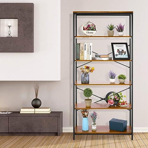 Reviewed: Devo Store Shelve Vintage 5 Tier Bookcase