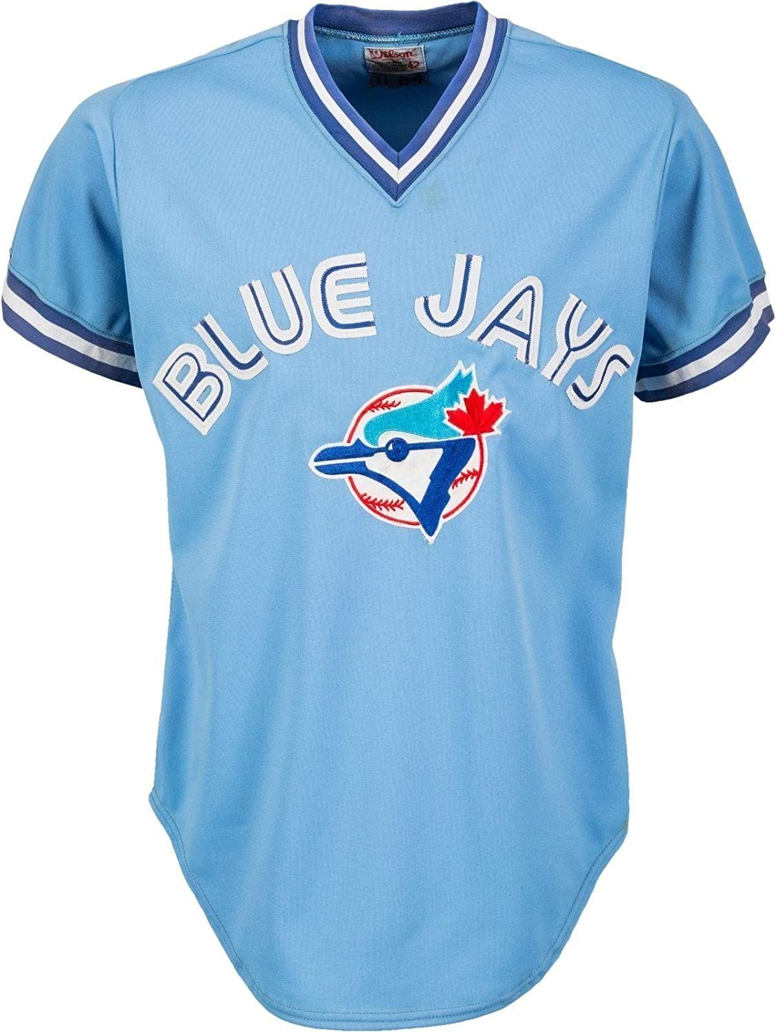best service 86fb8 a4366 Rare George Bell Game Used 1984 Toronto Blue Jays Jersey ...
