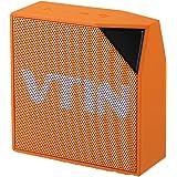 VTIN Altoparlante Bluetooth 5W Esterno, Speaker Portatile Stereo per Galaxy S7/S6/S5, iPhone 7/7 Plus/6S, Arancio