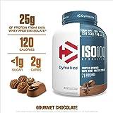 Dymatize ISO100 100% Hydrolyzed Whey Protein Isolate, Gourmet Chocolate - 2.3kg