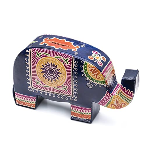 Matr Boomie Global Crafts - Monedero de piel con diseño de ...