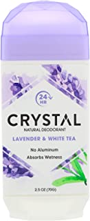 product image for Crystal Body Deodorant, Natural Deodorant, Lavender & White Tea , 2.5 oz (70 g), Pack of 4