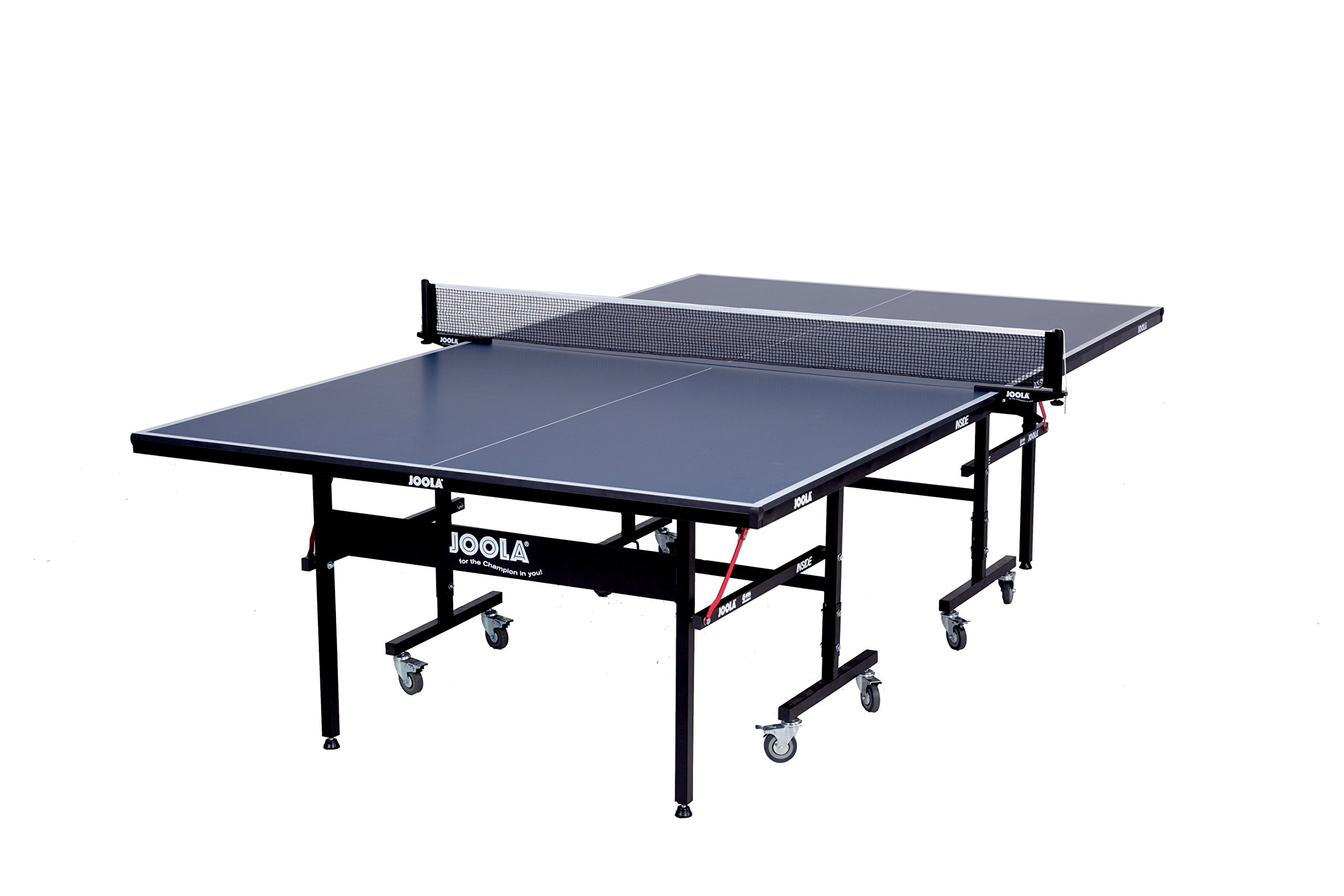 JOOLA Inside 15mm Table Tennis Table with Net Set - Features Quick 10-Min Assembly, Playback Mode, Foldable Halves by JOOLA