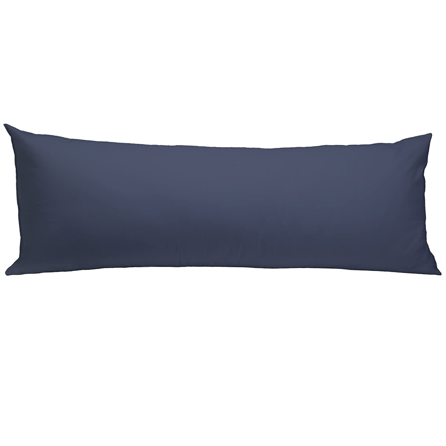 RestRight 100% Cotton Body Pillow Protector, 20 x 54 - Navy American Textile 96666