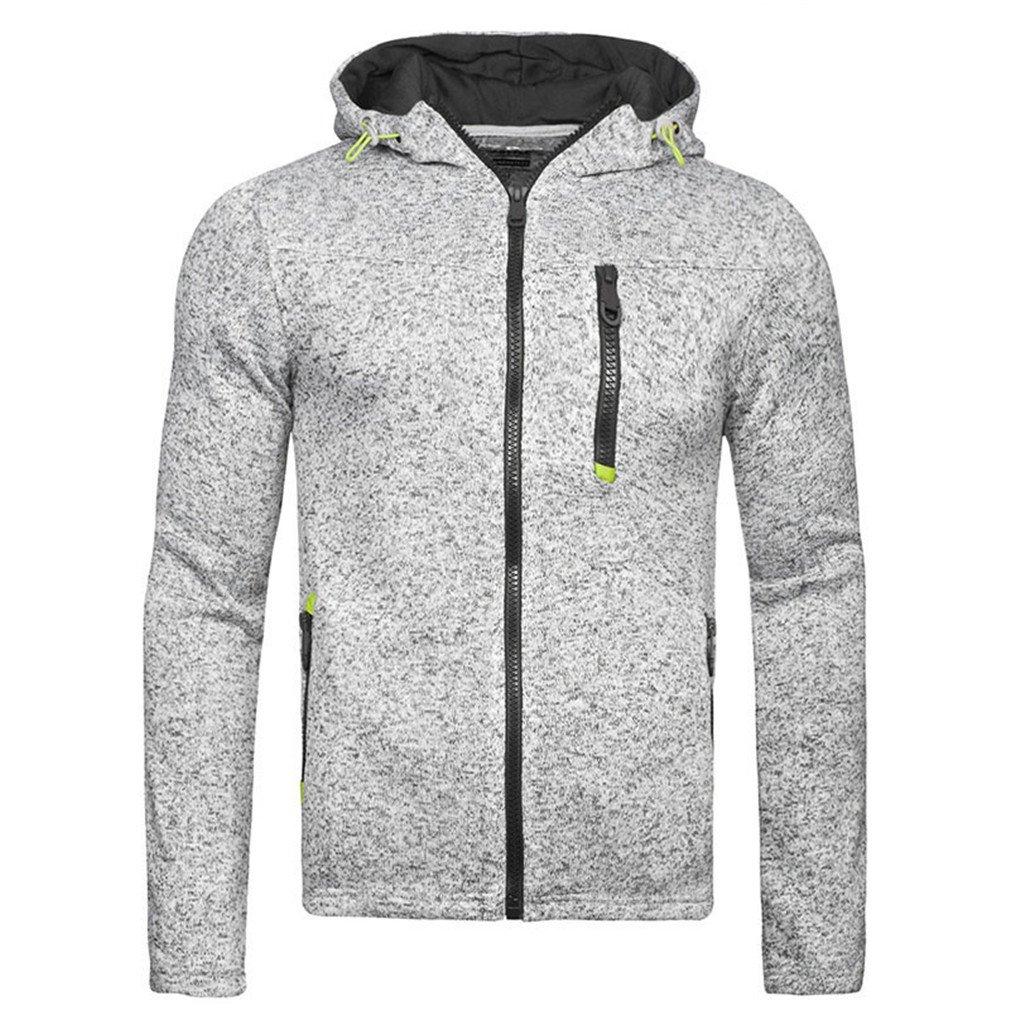 Bleuzee Winter Hoodies Sweatshirt Polka Dot Print Zipper Mens Hoody Sweatshirt Brand Casual Sudaderas Hombre at Amazon Mens Clothing store: